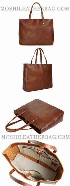 Handmade Full Grain Women Leather Tote Bag, Diaper Bag, Shoulder Bag, Handbag YD8050