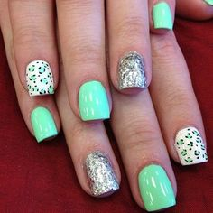Modern Nails With Beautiful style 2014