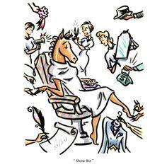 Horse Show Biz by Rollin McGrail