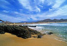 Playa Cerritos a quiet stretch of sand in Mazatlan Mexico