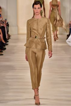 Ralph Lauren Spring 2015 Ready-to-Wear Fashion Show - Pauline Hoarau