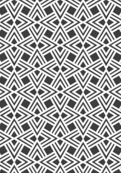 Tiled geometric pattern