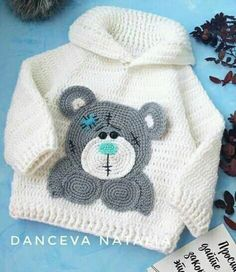 Baby Girl sweater with Hearts, Valentines Day sweater, Birthday Gift For Girl, Pullover Sweater, Crochet Baby Clothes, Crochet Baby Shoes, Crochet For Boys, Baby Sweater Patterns, Baby Patterns, Crochet Patterns, Crochet Hoodie, Knit Crochet, Crochet Sweaters