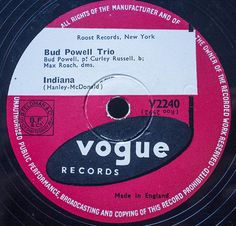 Excellent Bud Powell tune from 1947. #cornwallwedding #jazz78 #arcadia78rpmorchestra  #vintagedj #weddingmusic