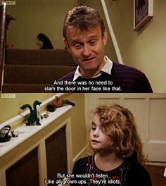 """21 Times Karen From """"Outnumbered"""" Was The Funniest Kid In Britain Comedy Quotes, Comedy Tv, Comedy Show, Tv Quotes, British Sitcoms, British Memes, British Comedy, Junior Year Quotes, Karen Memes"""