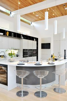 Contemporary London house - contemporary - Kitchen - London - Lida Cucina
