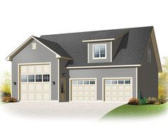 Plan 028G-0052 - Garage Plans and Garage Blue Prints from The Garage Plan Shop