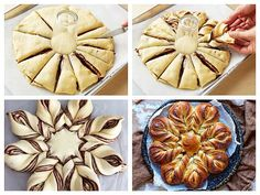 Croissant, Apple Pie, Food And Drink, Easter, Cooking, Desserts, Ideas, Mascarpone, Fine Dining