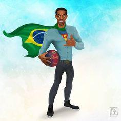 Legendary SuperRon, soccer superhero El Gaucho #ronaldinho #ronaldinho10 #ronaldinhoart #elgaucho #gaucho #soccer #football #soccerart #portrait #artlovers #artstagram #disegno #drawing #galleryart #creative #illusration #followme #legend #legends #fifa18 #fifa17 #icons #picoftheday #pavelkharitonenko