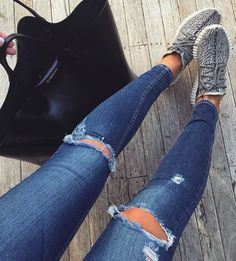 givenchy tote + yeezy boost