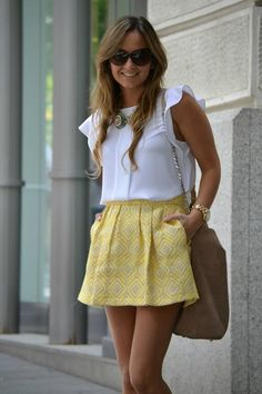 Yellow Skirt  by Iria & Me