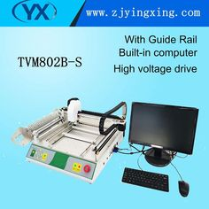 Manual Small Pick and Place Machine TVM802B-S For Pcb Assembly Machine