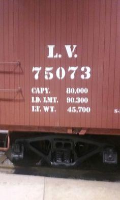 LV Boxcar Info. Strasburg Railroad, Railroad Photography, Boxcar, Lehigh Valley, Train, Cars, Autos, Automobile, Car