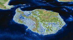 Atlas reveals landscape under ice