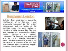 London handyman by PropertyMaintenance via slideshare