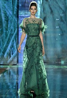 Couture Dresses Collection / Return of the Phoenix / Model 1 | Blanka Matragi