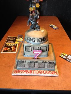 King Kong Birthday Cake | Boys Birthday Cake