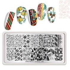 New Release❗New 🎅🎄Christmas theme stamping plates, start your collection😉. ⠀ ·⠀ ·⠀ #bornpretty #bornprettyamazon #auroranails #pret... - #christmas #collection #plates #release #stamping #start #theme - #new