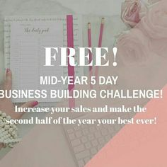 Don't forget to hurry up and drop your email below or DM as training begins tomorrow! In this free 5 day business course you will learn how to kick start your new quarter today with learning how to increase your audience, use innovative sales strategies, create the perfect sales pitch, & market your business to over 50k followers.