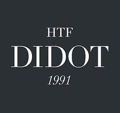 10 best: HTF Didot