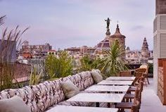 Snaps - View Soho house Barcelona book, created by Jorge-Mata in Other category Rooftop Pool, Rooftop Garden, Terrace, Soho House Barcelona, Barcelona Spain, Outdoor Spaces, Outdoor Dining, The Locals, Paris Skyline