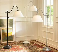 Adair Floor Lamp #potterybarn- Great for next to my bedside so I can read:)