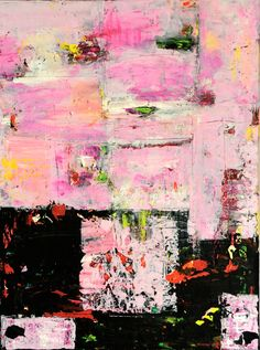 ROSA    Pink Original Abstract Acryllic painting on by LivsGlad, $300.00