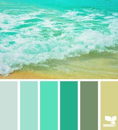 Looks like the colors you already did on your room. So creative!