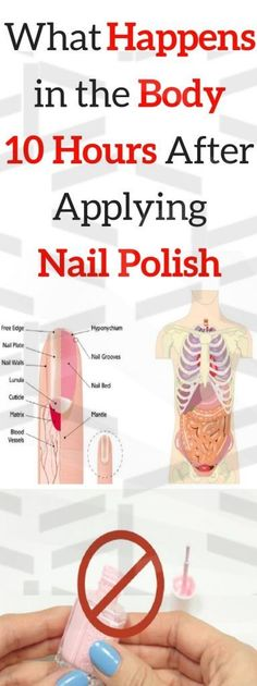 What Happens to Your Body 10 Hours After You Apply Nail Polish Even though wome. , What Happens to Your Body 10 Hours After You Apply Nail Polish Even though women constantly use nail polish and are generally unaware of its effects o. Reproductive System, Endocrine System, Health And Fitness Articles, Health Advice, Health Care, Nail Polish Brands, Nail Polish Hacks, Lose Weight, Weight Loss