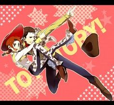 Jessie and Woody, anime style