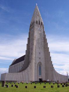 Hallgrímskirkja (Lutheran church), Reykjavík, Iceland