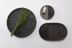 Lava plates on Industrial Design Served