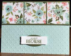 SU! Birthday Bouquet, Tin of Cards, One Sheet Wonder
