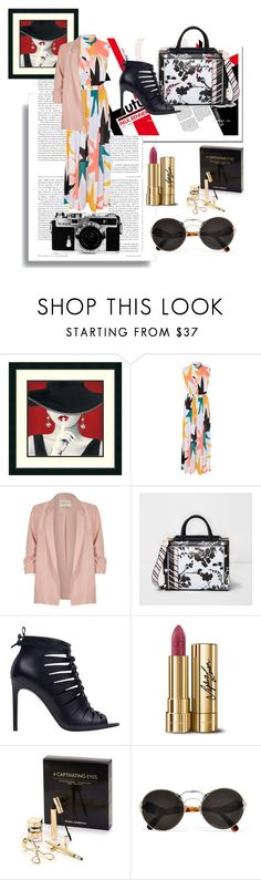 """""""MAY date night"""" by wolf-girl97 ❤ liked on Polyvore featuring Mara Hoffman, River Island, Nikon, Dolce&Gabbana and Prada"""