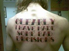 Hilarious tattoo found at www.meseek.com