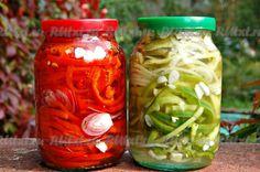 Рецепт маринованного болгарского перца - рецепт с фото