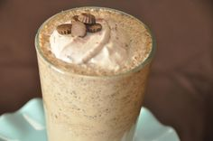 Reeses Smoothie: 8 oz water, 2 scoops Herbalife Formula 1 Cookies & Cream, 1 tbs chocolate pudding, 1 tbs PB2, 1 cup ice