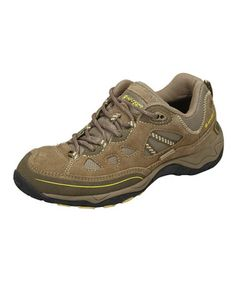 Look what I found on #zulily! Clay & Taupe Total Terrain Lace All-Terrain Shoe - Women by Hi-Tec #zulilyfinds