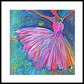 Ballerina Painting - Ballet Bliss by Deb Magelssen Painting & Drawing, Watercolor Paintings, Acrylic Paintings, Dance Paintings, Easy Paintings, Ballerina Painting, Ballet Art, Ballet Dancers, Easy Watercolor