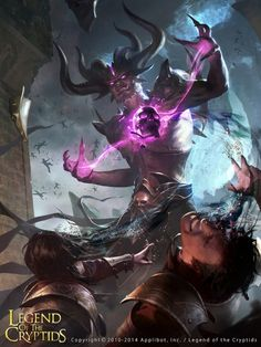 The stunning fantasy illustrations of artist Jack Wang Lei. He's created works for Legend of the Cryptids for Applibot and Wizards of the Coast. Dark Fantasy Art, Fantasy Girl, Fantasy Artwork, Majin, Ange Demon, Epic Art, Fantasy Illustration, Illustration Pictures, Fantasy Creatures