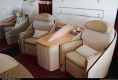 Air France Boeing 777 first class