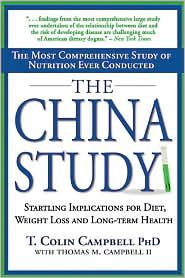 """""""The China Study cuts through the haze of misinformation and delivers an insightful message to anyone living with cancer, diabetes, heart disease, obesity, and those concerned with the effects of aging. Additionally, it challenges the validity of these low-carb fad diets and issues a startling warning to their followers."""""""