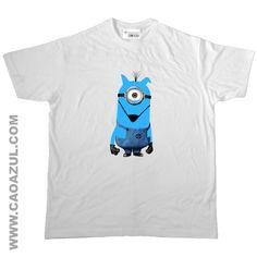 MÍNIMO CÃO AZUL - t-shirt