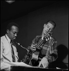 Hank Mobley & Kenny Burrell by Francis Wolff