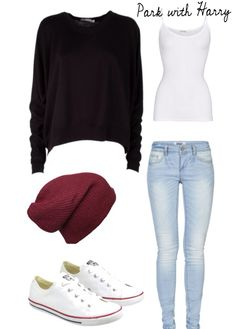 The park with Harry, Harry styles themed outfit