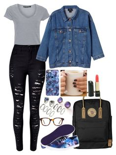 Gail by anna-fozo on Polyvore featuring polyvore, fashion, style, Monki, Vans, Fjällräven, Forever 21 and clothing