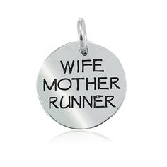 Wife Mother Runner Charm – Lift Your Sole