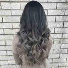 157 ľuďom sa to páči new hair colors, silver ombre hair, best ombre hair,. Silver Ombre Hair, Best Ombre Hair, Brown Ombre Hair, Ombre Hair Color, Dream Hair, Balayage Hair, Hair Looks, Hair Trends, Curly Hair Styles