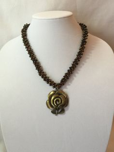 A Fall Rose by BaublesOutsideTheBox on Etsy