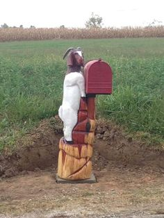 # *********** Amc Abodes, Your Advocate, When Buying or Selling a Home. Visit:  agentannecook.com Funny Mailboxes, Unique Mailboxes, Country Mailbox, Mailbox Post, Vintage Mailbox, Mailbox Decals, You've Got Mail, Goat Farming, Stuff To Do